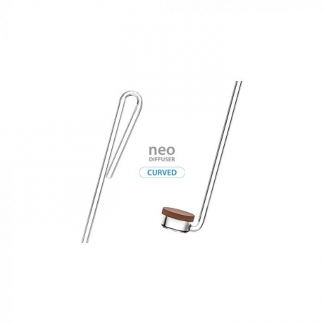 Aquario NEO Special Type Curved acrilyc CO2 diffusor - large