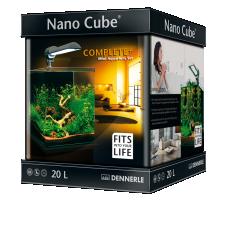 Dennerle NanoCube Complete+ SOIL - Power LED 5.0 - Аквариумный набор - 20 литров