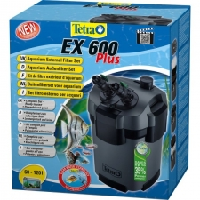 TetraTec EX 600 Plus, veepuhastuse välisfilter