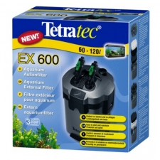 TetraTec EX 600, veepuhastuse välisfilter