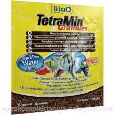 Tetra Min Granulat Dekoratiivkalade sööt 15g/250ml